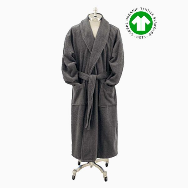 Bed & Bath Grey Luxury Bath Robe from Bed & Bath, Inc. | A family owned company specializing in Rollaway Folding Beds & Guest Products