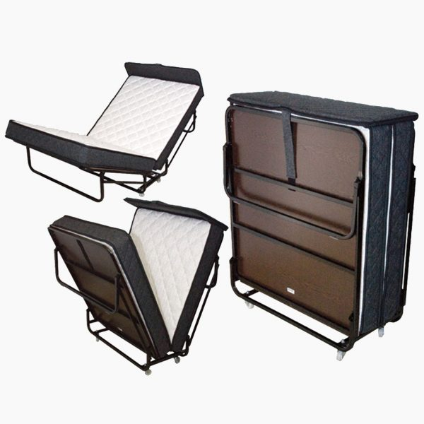 The Edward® Rollaway Folding Bed (Pin Pan Pun) from Bed & Bath, Inc. | A family owned company specializing in Rollaway Folding Beds & Guest Products