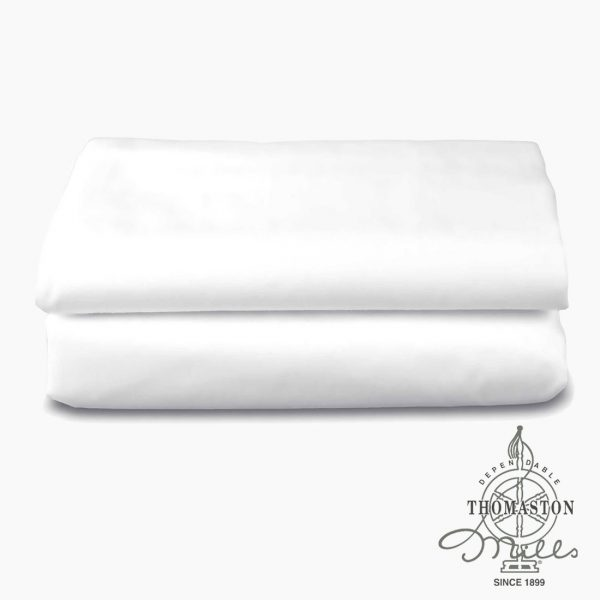 White Thomaston Mills Sheets from Bed & Bath, Inc. | A family owned company specializing in Rollaway Folding Beds & Guest Products
